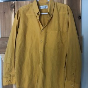 Yellow Yves Saint Laurent Button Up